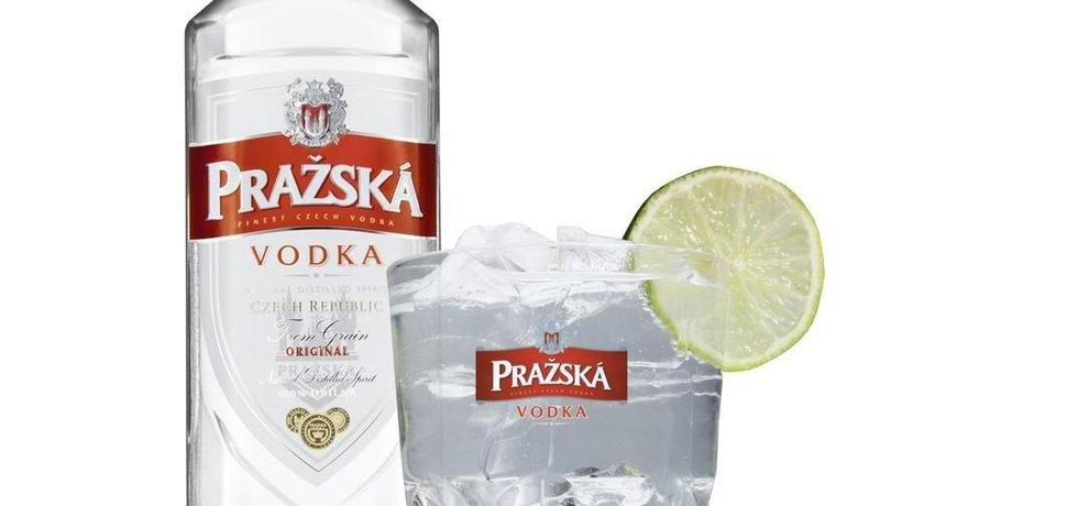 Pražská vodka, ilustrační foto