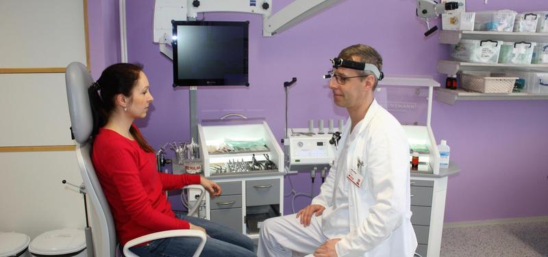 Nový přístroj přináší komfort lékařům i pacientům.