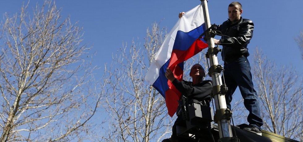 Rusové na Krymu - ilustrační foto (Zdroj: čtk)