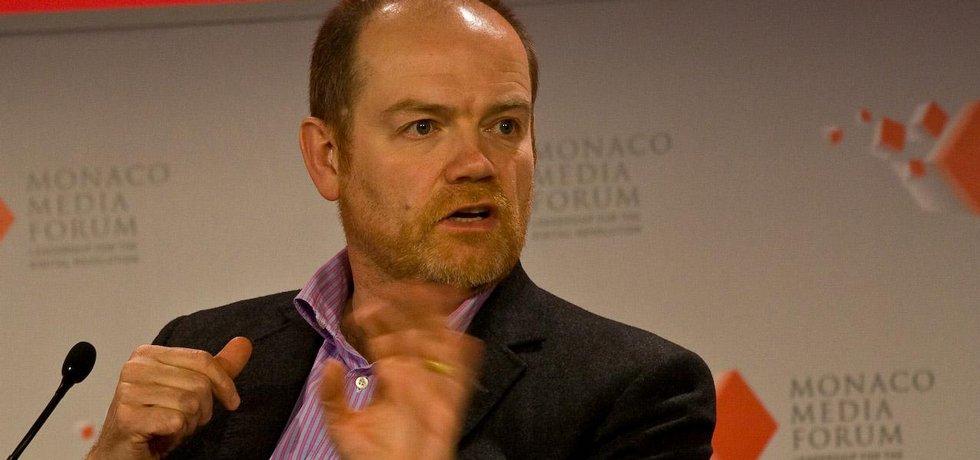 Výkonný ředitel New York Times Mark Thompson
