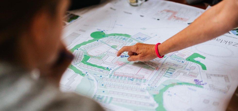 Plán revitalizace vzniká ve spolupráci s místními.