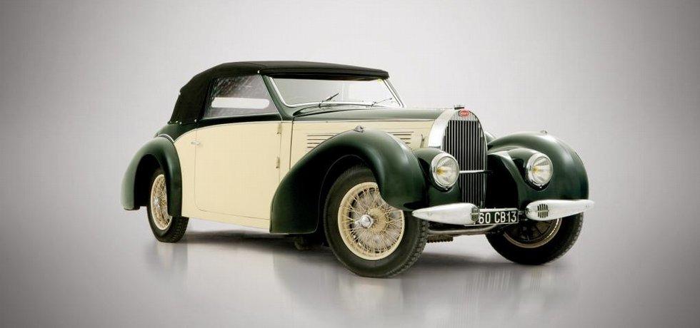 1939 Bugatti Type 57 Cabriolet