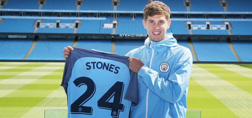 Fotbalista Manchesteru City John Stones (Zdroj: Manchester City)