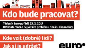 Konference týdeníku Euro Kdo bude pracovat?
