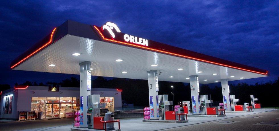 Čerpací stanice Orlen