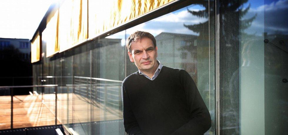 Stanislav Martinec. Majitel firmy KOMA Modular.