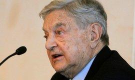 Americký finančník a filantrop George Soros