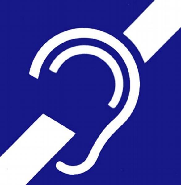Neslyšící, hluchota, mezinárodní symbol,