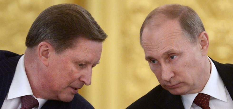 Sergej Ivanov a Vladimir Putin (Zdroj: čtk)