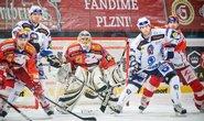 Hokej - ilustrační foto (Slavia vs. Plzeň)
