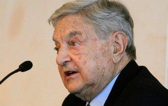 Americký miliardář a investor maďarského původu George Soros.