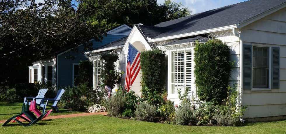 Americký dům - ilustrační foto (Autor: Leandro Neumann Ciuffo, Flickr.com, CC BY 2.0)