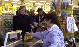 Nákup v supermarketu