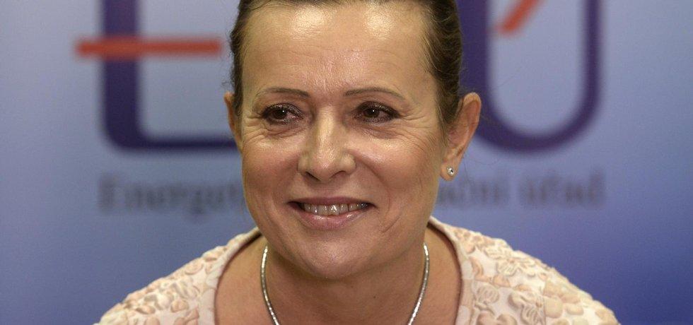 Předsedkyně Energetického regulačního úřadu Alena Vitásková (Zdroj: ČTK)