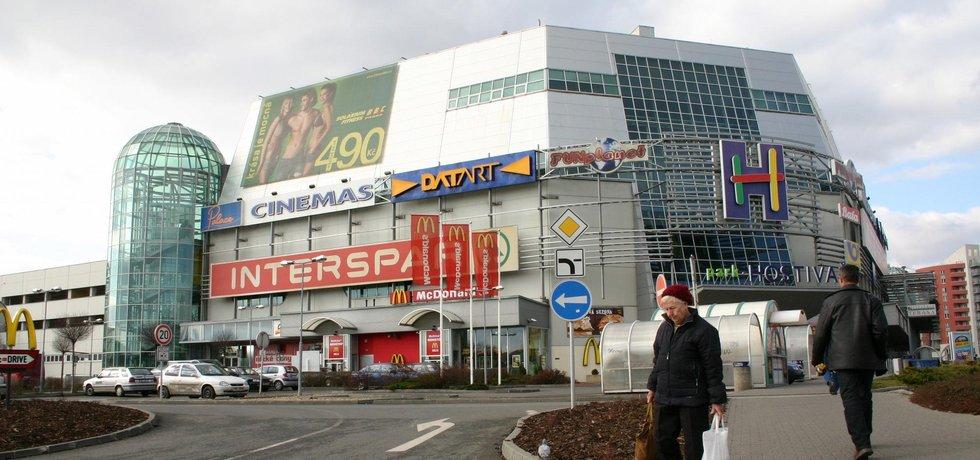 Interspar v nákupním centru Hostivař