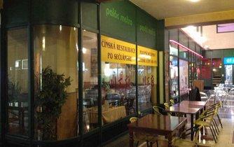 Čínská restaurace po sečuánsku