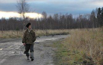 Záběr z ruské Karelie