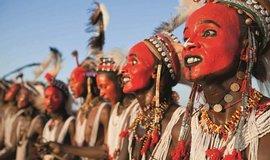 Muži etnika Wodaabe