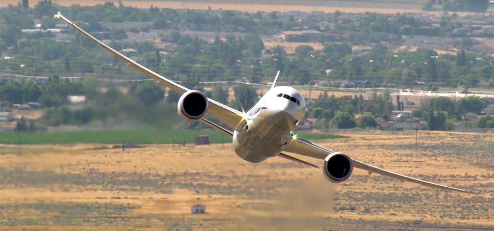 Boeing 787-9 Dreamliner společnosti ANA