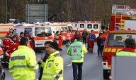 Při srážce vlaků v Bavorsku zahynulo několik lidí, 150 bylo zraněno