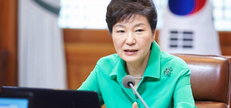 Jihokorejská prezidentka Pak Kun-hje