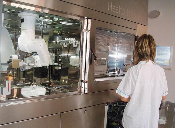 Nové přístroje v nemocnici