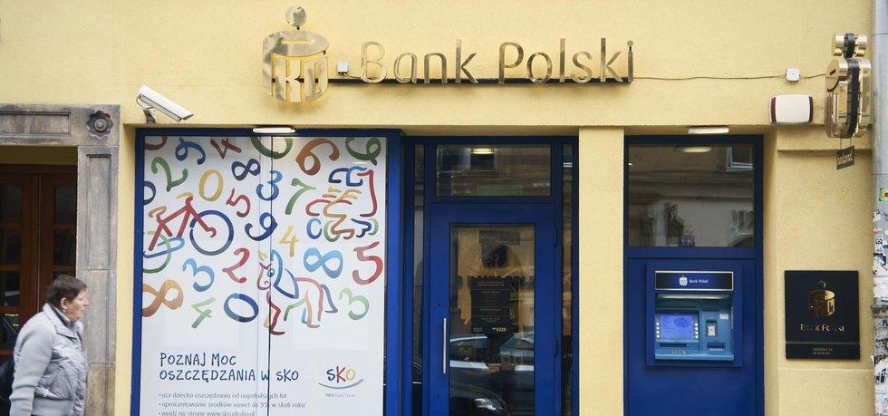 Pobočka PKO Bank Polski (Zdroj: ČTK)