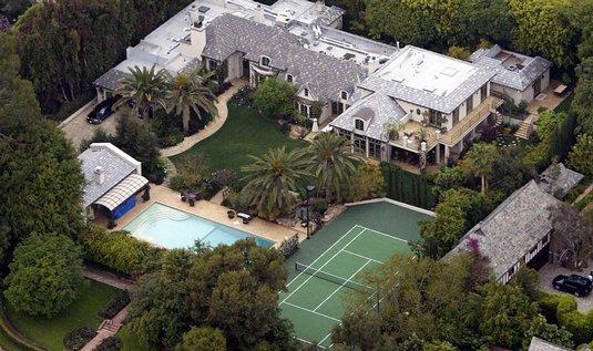 Luxusní dům Madonny v Beverly Hills