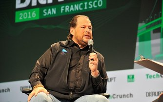 Ředitel Salesforce Marc Benioff