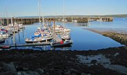 Záliv Fundy v oblasti Nova Scotia v Kanadě