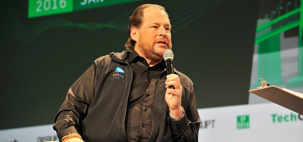 Ředitel Salesforce Marc Benioff