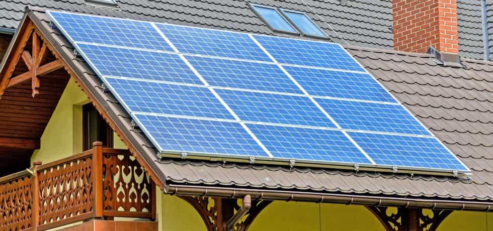Solární panely, ilustrační foto