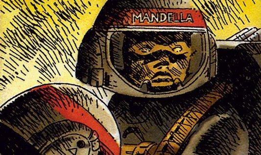 Ukázka z komiksu Večná válka