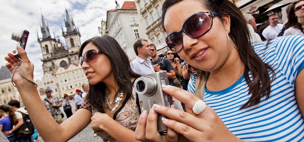 Turistky v Praze