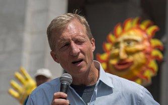 Miliardář a ekologický aktivista Tom Steyer