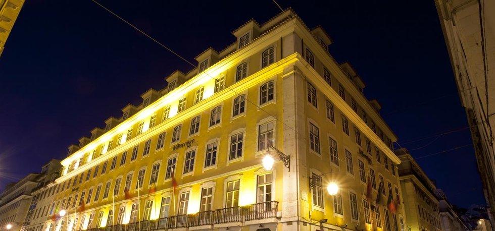 Hlavní sídlo portugalské banky BCP v Lisabonu