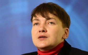 Ukrajinská politička Nadija Savčenková