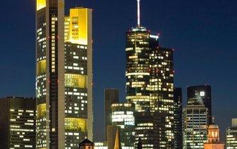 Budova německé Commerzbank v Hamburku