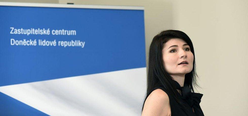 Nela Lisková, zakladatelka údajného Zastupitelského centra DNR.