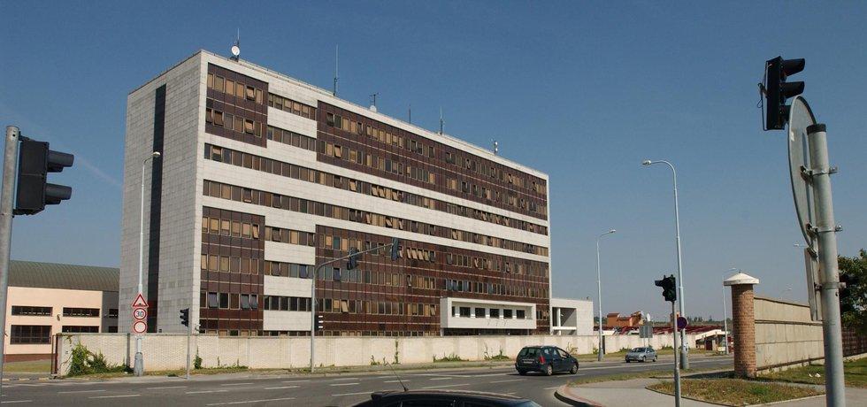 Budova bezpečnostní informační služby v Praze