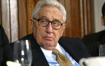 Bývalý americký ministr zahraničí Henry Kissinger
