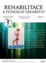 Rehabilitace a fyzikální lékařství