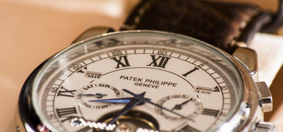 Hodinky Patek Philippe, ilustrační foto. Foto BY CC 2.0; Sergio S.C; Flickr