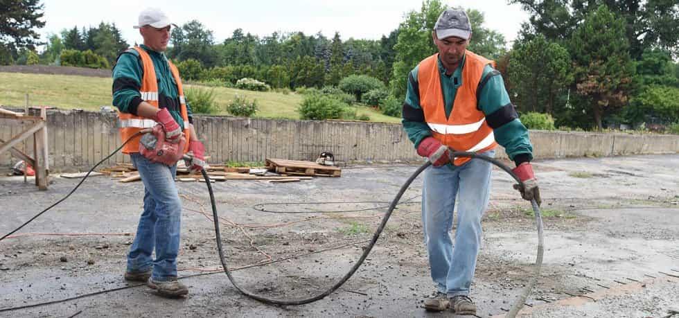 Dělníci - ilustrační foto