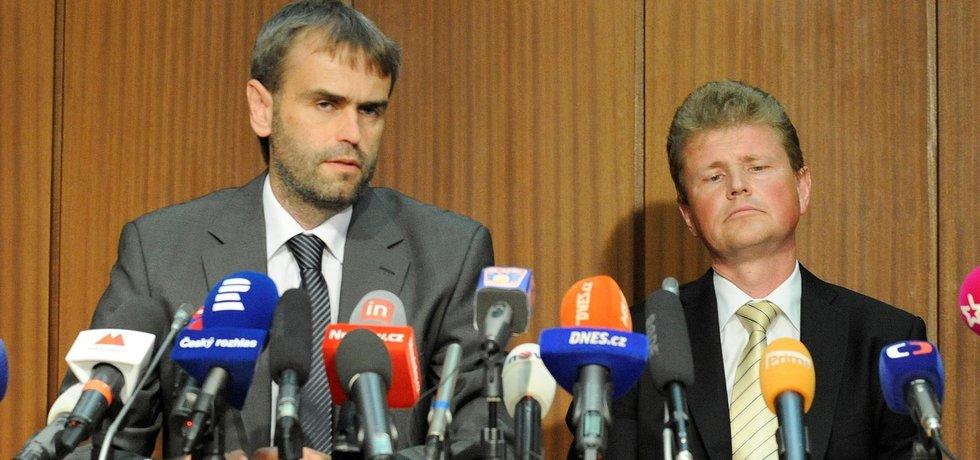Robert Šlachta a Ivo Ištvan