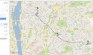Plánování trasy pražskou MHD na Google