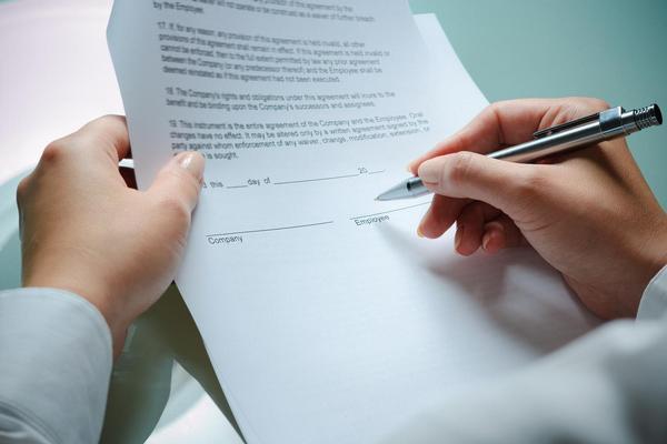 smlouva, podpis, dohoda