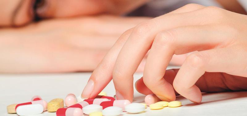 *léky, žena, deprese