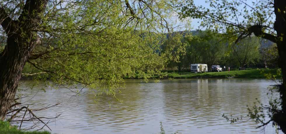 Lokalita na soutoku Berounky a Vltavy