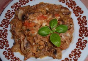 (nejen) Tunáková smes s mozzarellou